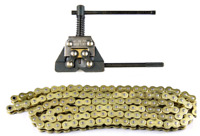 O-Ring 520HV Chain with Chain Repair Tool Cutter Set For Motorcycle ATV