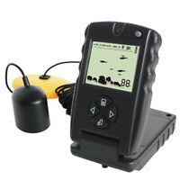 LUCKY 100FT Wired Fish Finder Monitor Detector Sonar Finders Echo Sounder D1Q8