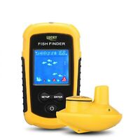 Portable Sonar Sensor Deeper Fish Finder 120 Meter Wireless Operation Range
