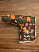 Scotty Cameron 2009 Masters Sweet Nectar Peaches Putter Head cover