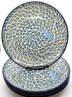 HAND PAINTED POLISH CERAMIC POTTERY SALAD PLATE 8