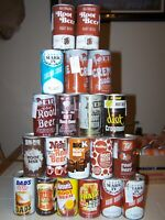 Vintage Root Beer Cream Soda Pop Can Collection Some Great Cans