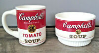 Vintage Campbell Soup Bowl and Condensed Tomato Soup Mug