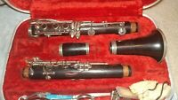 Buffet Crampon Wood Clarinet Evette  D series Wooden Vintage