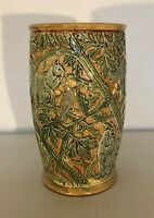 Weller Crisp Selma Vase with Squirrels, Owls, Birds MINT!