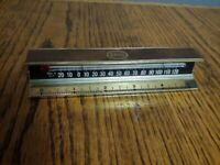 Vintage Mid Century Esso desk thermometer/ruler advertising specialty Very Rare
