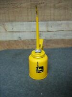 Vintage JOHN DEERE Yellow Trigger Oiler Oil Can JD92 by EAGLE USA