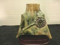 Jaime Studio Art Pottery Handcrafted Footed Vase