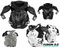EATT FUSION 3.0 VEST NECK CHEST BACK ELBOW PROTECTOR ARMOR MX ATV OFFROAD RACE