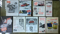 Lot Vintage ADS / ADVERTISING ~ ATLAS ~ PRESTONE ~ THERMO ~ ZEREX ~ Anti-Freeze