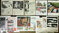 Lot Vintage ADS/ADVERTISING  AMERICAN IRON & STEEL ~ USS ~ A.O. SMITH ~ WHEELING