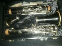 Normandy Bb Clarinet.Ready to play.Beautiful mellow resonant tone.  Excellent.