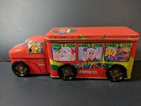 Santa's Express Tin Truck Christmas - 2 Compartments - The Tin Box Company