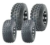 Set 4 ATV Go Kart Tires 145/70-6 145x70x6 & 19x7-8 19x7x8 4PR