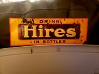 1920 Vintage Hires Sign Rare Guaranteed Old And Original