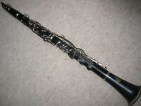 Very nice old wooden Bb Clarinet 4rings ALBERT  System,
