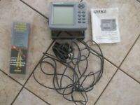 Eagle FishMark 480 Fish/Depth Finder Complete w/Display Mount and Transducer.