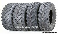 Set of 4 ATV/UTV Tires 25x8-12 Front 25x10-12 Rear 6PR 10272/273
