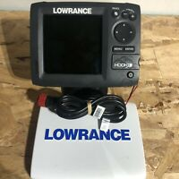 Lowrance Hook-5 CHIRP - GPS Chartplotter and Fishfinder w/powercord