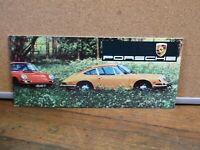 1968 PORSCHE 900 SERIES SALES BROCHURE