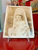 Coca Cola 1900s Marion Davies Signed Autographed Photo From Allan Petretti