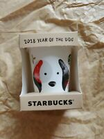 Starbucks 2018 Year Of Dog Coin Bank Limited Edition Thailand