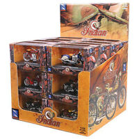 New Ray 6067 1:32 D/C Indian Bike 24Pcs Die-Cast ATV Toy (Multi Color)