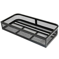 Universal Front Atv Hd Steel Cargo Basket Rack Luggage Carrier 36