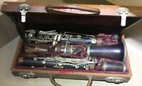 VintageRARE CLEAR- The Pedler Premiere Clarinet with Original Case, Elkhart Ind.