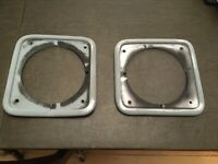 International Scout II Headlight Bezels