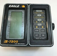 Vintage Eagle Fish Finder Locator LCG Graph Recorder Z-7200 Head Unit Only