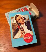 Coca Cola 1943 Deck Of Playing Cards Military Nurse Aircraft Spotter Cards w/Box