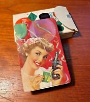 Coca Cola 1951 Deck Of Playing Cards Party Girl Allan Petretti