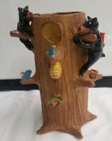 MARVIN BAILEY Southern Primitive Indigenous Folk Art Pottery TREE OF LIFE