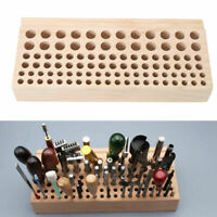 98 Slots Craftool Wood Tool Stamp Stand Rack Leather Holder Diy Craft US STOCK