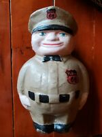 Phillips 66 Oil Gas Filling Station Attendant Cast Iron Bank Fat Man Can