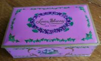 Vintage VGC Louis Sherry New York Candy Tin Eagle Can Co. 1 LB. Deco Violets