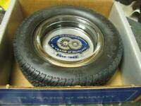 Cooper Cobra Tire Ashtray 75th Anniversary 1914-1989 In Box