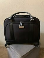 Samsonite Travel Luggage Women#x27;s Spinner Mobile Office Black Bag Laptop Case 15quot;
