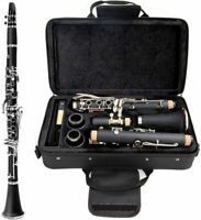 New Glarry Bb Professional Clarinet w Case Reeds amp; Accessories