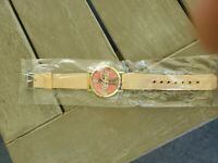 Coca Cola watch with vintage coke bottle face Rose Gold Band