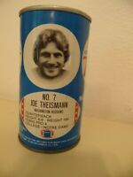 1977 NFL Football Royal Crown Cola RC Can Joe Theismann Washington Redskins