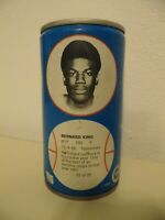 1979 NBA Basketball Royal Crown Cola RC Can Bernard King New Jersey Nets