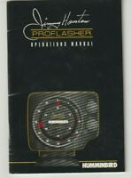 Humminbird Jimmy Houston Pro Flasher Operations Manual Nice