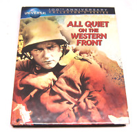 All Quiet on the Western Front Universal Blu Ray amp; DVD 100th Anniversary VG $17.95