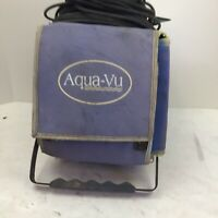 Aqua Vu Scout XL Underwater Fish Camera Ice Fishing UNTESTED FOR PARTS