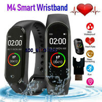 M4 Smart Watch Band Heart Rate Blood Pressure Monitor Tracker Fitness Wristband $9.98