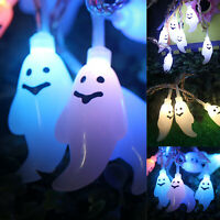 Halloween String Lights LED Ghost Decor for Halloween Party Indoor Outdoor Lamp