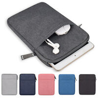 For 8quot; 10quot; iPad Mini Universal Tablet Pouch Sleeve Double Zipper Shockproof $8.99