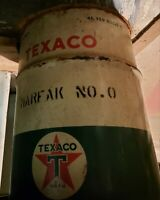 Texaco Vintage Oil Barrel